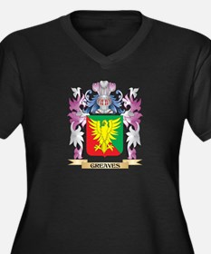 Greaves Coat of Arms (Family Cre Plus Size T-Shirt