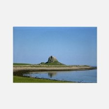 Holy Island Rectangle Magnet