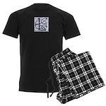 Monogram - Lang Men's Dark Pajamas