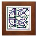 Monogram - Lang Framed Tile