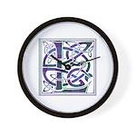 Monogram - Lang Wall Clock