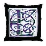 Monogram - Lang Throw Pillow