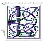 Monogram - Lang Shower Curtain