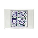 Monogram - Lang Rectangle Magnet (10 pack)