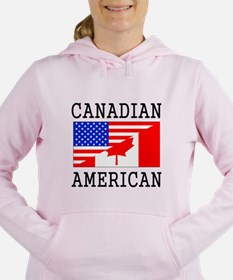 Canadian American Flag Sweatshirt
