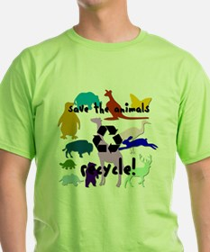 Save the Animals: Recycle! T-Shirt