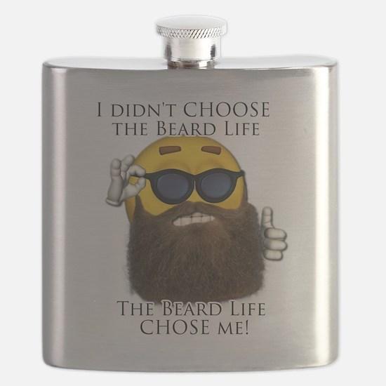 Cool Beard Flask