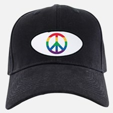 Rainbow Peace Sign Baseball Hat Baseball Hat