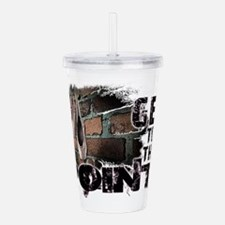 Cute Pointe Acrylic Double-wall Tumbler