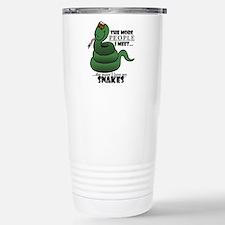 Unique Snakes Travel Mug