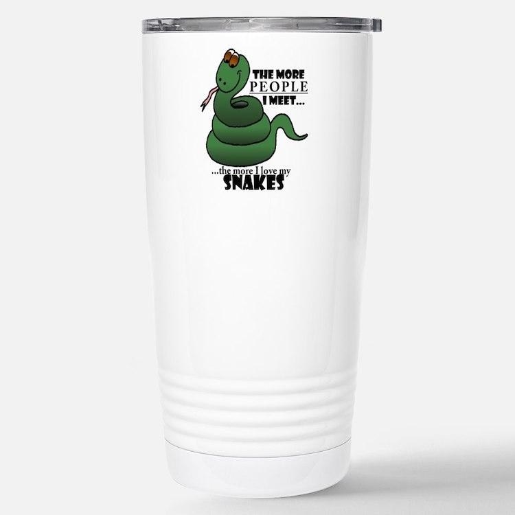 Cute Snake Travel Mug