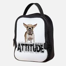 Cute Chihuahua Neoprene Lunch Bag