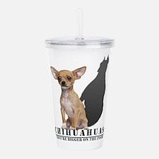 Cute Dog breeds Acrylic Double-wall Tumbler
