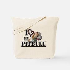Unique Pittie Tote Bag