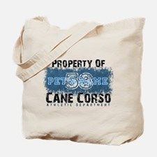 Personalized Cane Corso University Tote Bag