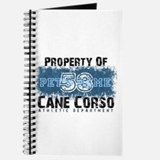 Personalized Cane Corso University Journal