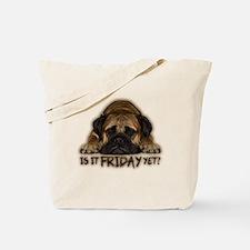 Cute Bullmastiff Tote Bag