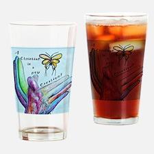 Cute 2 corinthians 517 Drinking Glass