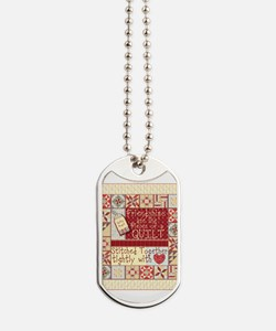 Friendship Quilt Dog Tags