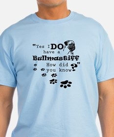 Funny Bullmastiff dog T-Shirt
