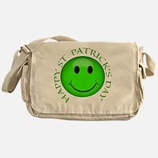 Cute St patricks day Messenger Bag