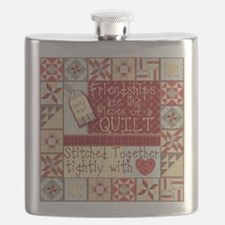 Friendship Quilt Flask