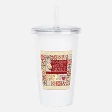 Friendship Quilt Acrylic Double-wall Tumbler
