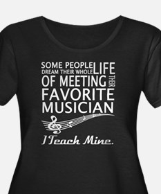 Musician T Shirt Plus Size T-Shirt