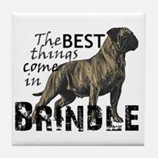 Cute Mastiff Tile Coaster