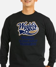 WB Quality Assurance Manager Long Sleeve T-Shirt