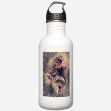 Female Martial Artist Water Bottle