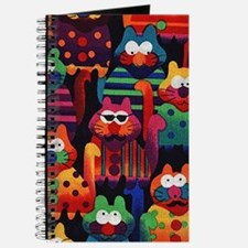Cool Colorful Cats Journal