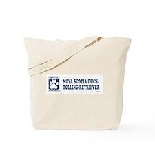 NOVA SCOTIA DUCK-TOLLING RETRIEVER Tote Bag
