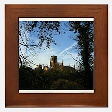 Durham Cathedral Framed Tile