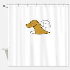 i love lab Shower Curtain