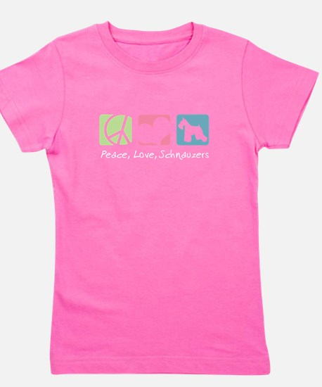 Peace, Love, Schnauzers T-Shirt