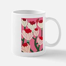 FLOWERS AND LADY BUG Mugs