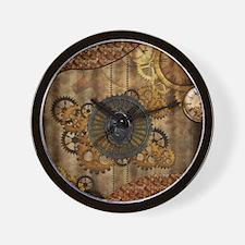 Streampunk, elegant design with clocks and gears W