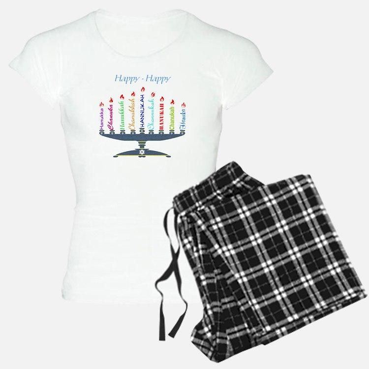 Spelling Chanukah 2 Pajamas