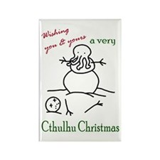 Cthulhu Christmas Rectangle Magnet (10 pack)