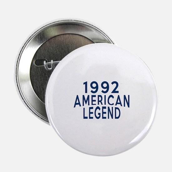 """1992 American Legend Birthday Designs 2.25"""" Button"""
