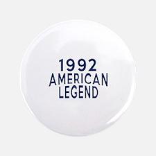 1992 American Legend Birthday Designs Button