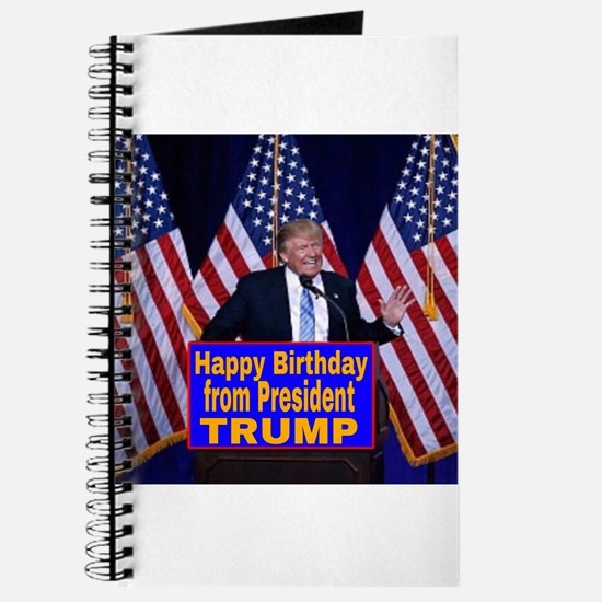 Happy Birthday from President Trump Journal