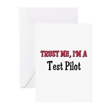 Trust Me I'm a Test Pilot Greeting Cards (Pk of 10