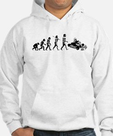 go-cart-white Sweatshirt