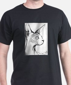 Hairless Profile T-Shirt