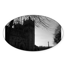 Durham Cathedral Oval Decal