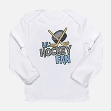 LilHockeyFanWhtT Long Sleeve T-Shirt