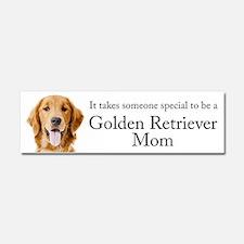 Golden Mom Car Magnet 10 x 3