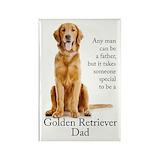 Golden retriever Magnets